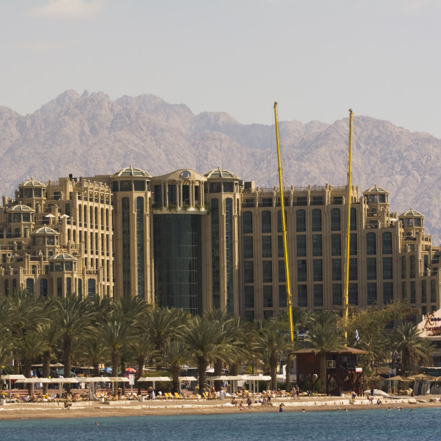 """Queen of Sheba Hotel, Eilat, Israel"" stock image"