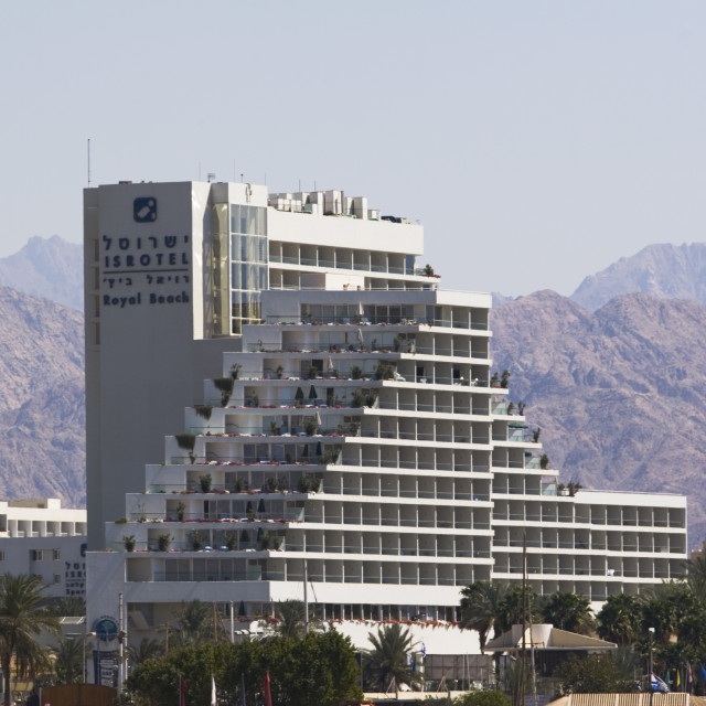 """Royal Beach Hotel, Eilat"" stock image"