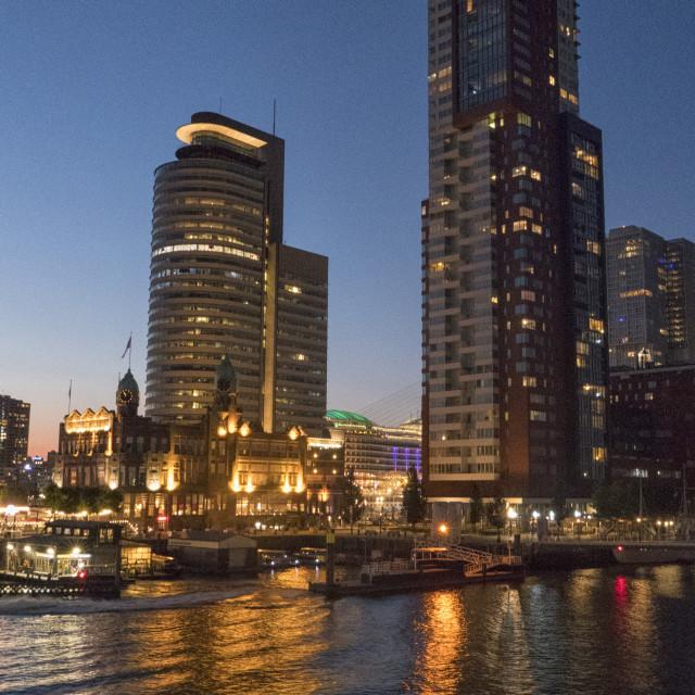 """""""Rotterdam Kop van Zuid"""" stock image"""