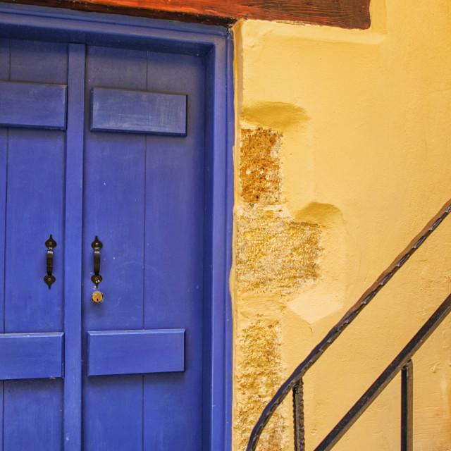 """Mediterranean colors"" stock image"