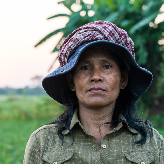 """Woman farmer"" stock image"