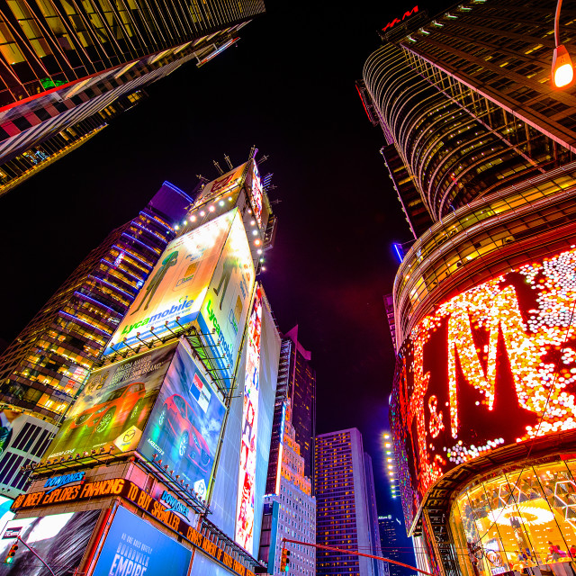 """Time Square"" stock image"