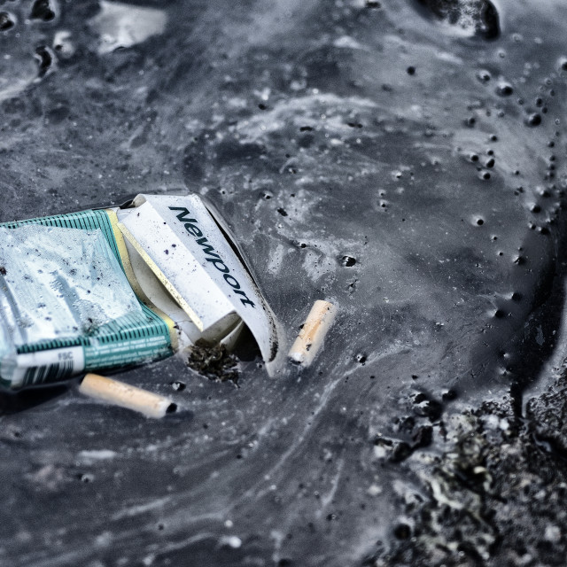 """Cigarete pack"" stock image"