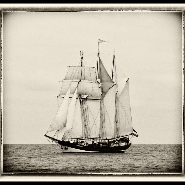 """Oosterschelde Tall Ship"" stock image"