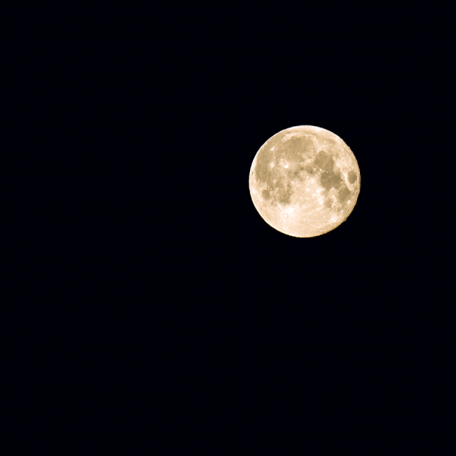 """Full moon_1"" stock image"