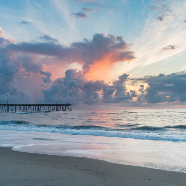 """Nags Head Sunrise"" stock image"