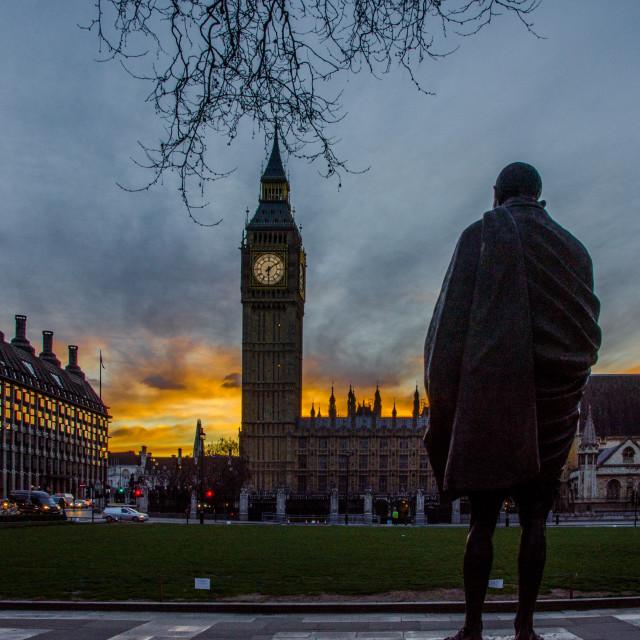 """Parliament Square"" stock image"