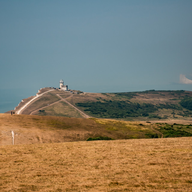 """Belle Tout on the South Downs Way"" stock image"