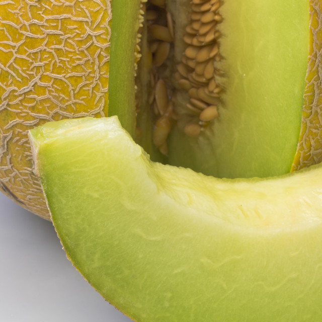 """Honeydew melon"" stock image"