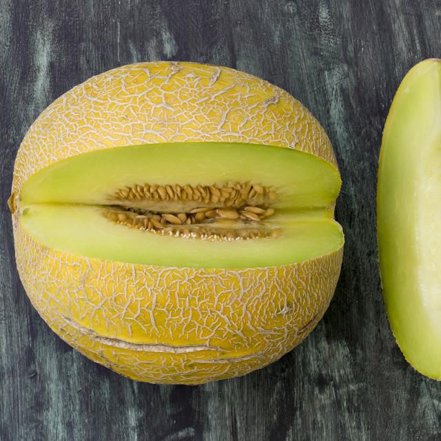"""Fresh melon"" stock image"
