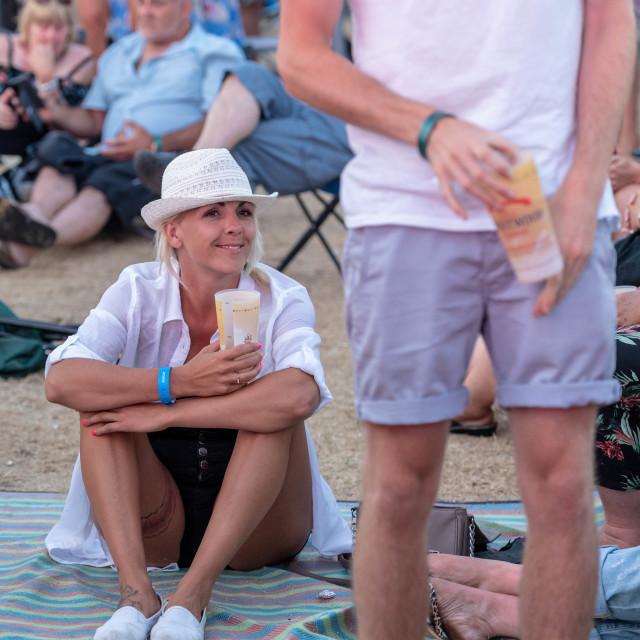 """Brentwood Music Festival"" stock image"