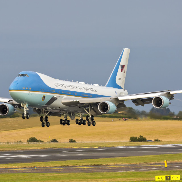 """Air Force One"" stock image"