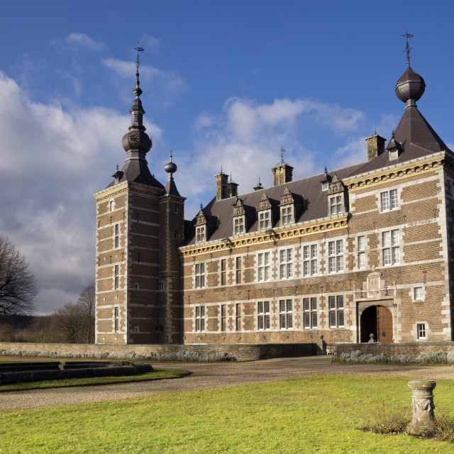 """Eijsden Castle in Holland"" stock image"
