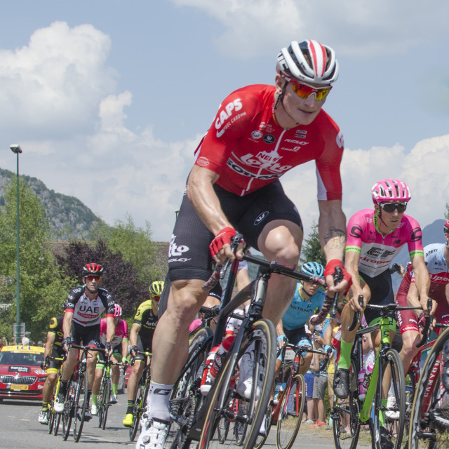 """Andre Greipel - Tour de France 2018 - Stage 10"" stock image"
