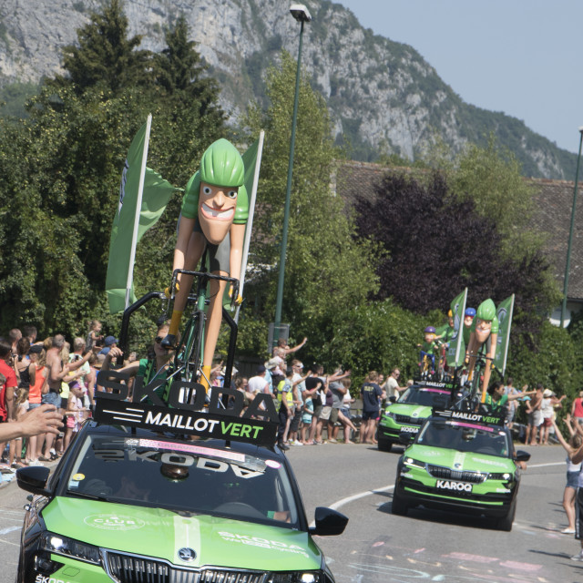 """Tour de France 2018 - Stage 10"" stock image"
