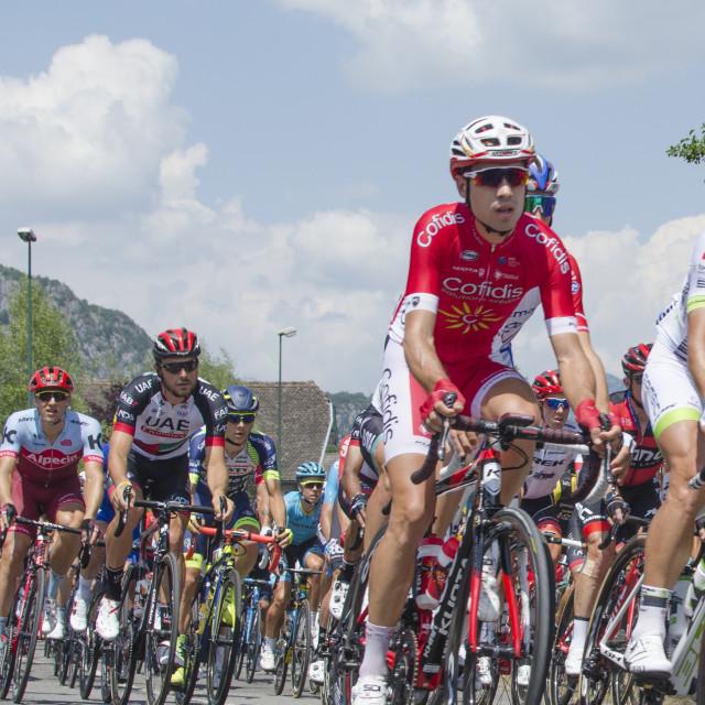 """""""Tour de France 2018 - Stage 10"""" stock image"""