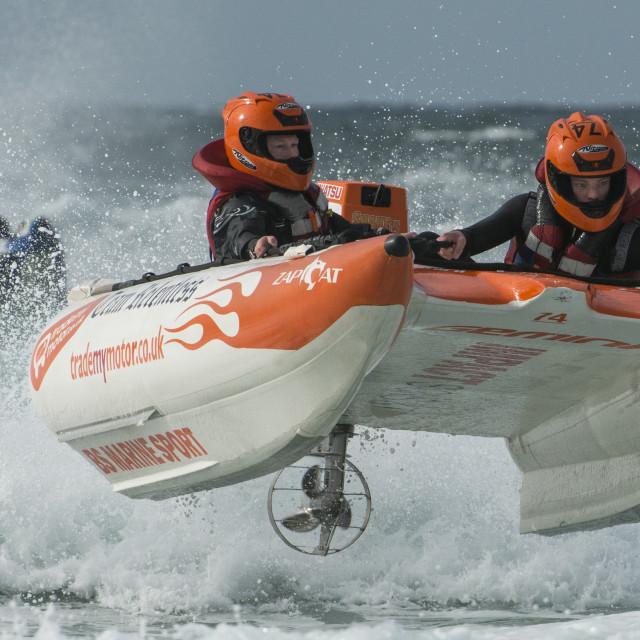 """Zapcat Racing in the UK"" stock image"