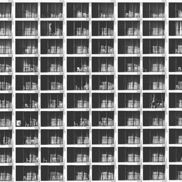 """Windows and Balconies"" stock image"