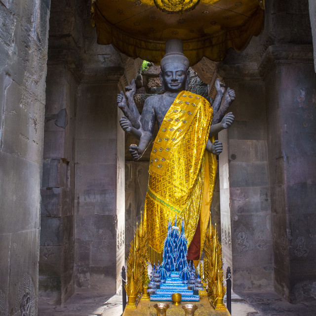 """""""Angkor Wat Temple in Cambodia"""" stock image"""