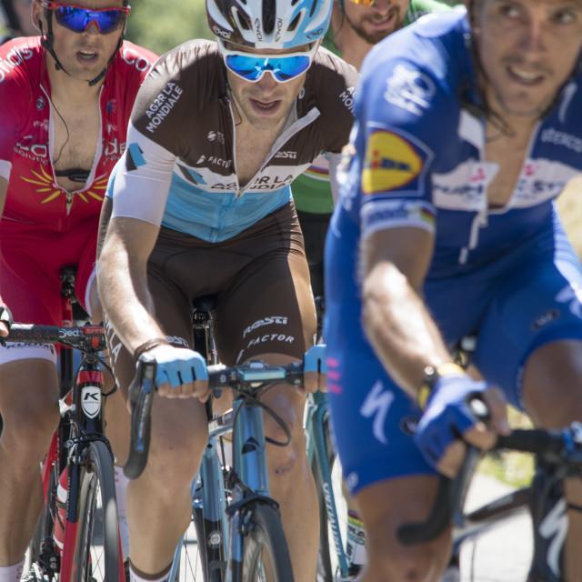 """""""Tour de France 2018 - Stage 11"""" stock image"""