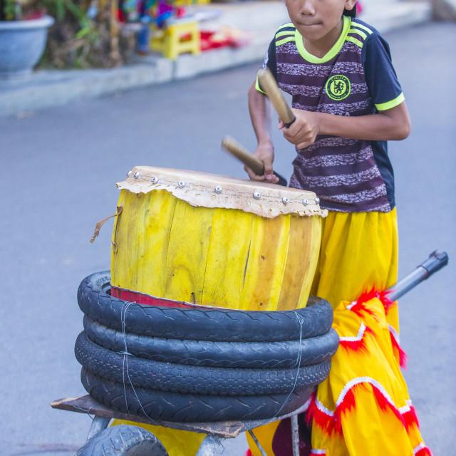 """""""Mid autumn festiaval in Hoi An"""" stock image"""