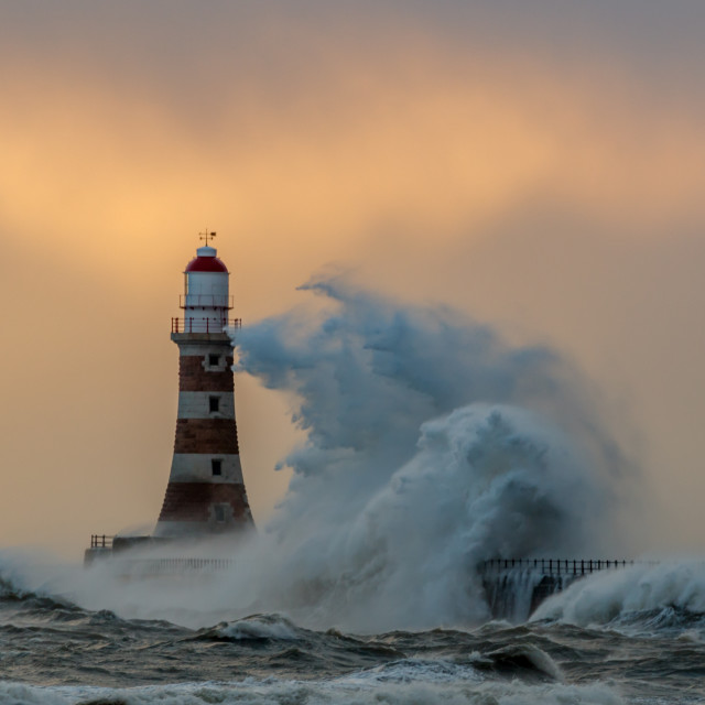 """Morning storm 2."" stock image"