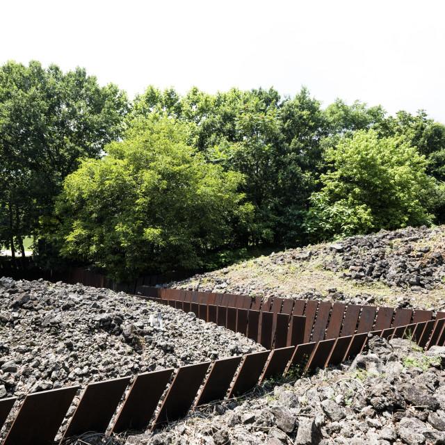 """""""Landscape architecture in Catalonia"""" stock image"""