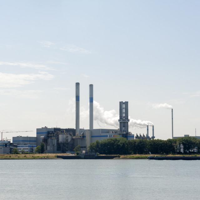 """""""Botlek The Netherlands AVR-Industrial Waste BV afvalverkwerking, waste..."""" stock image"""