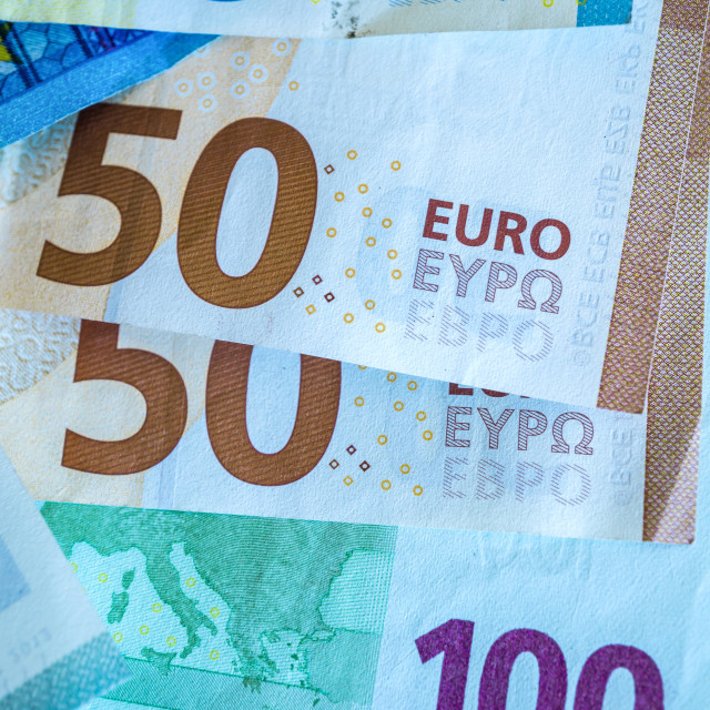 """""""European Union currency"""" stock image"""