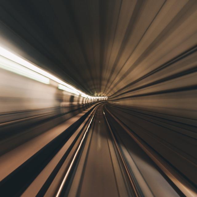 """Copenhagen metro"" stock image"