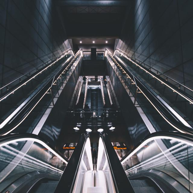 """Copenhagen Underground"" stock image"