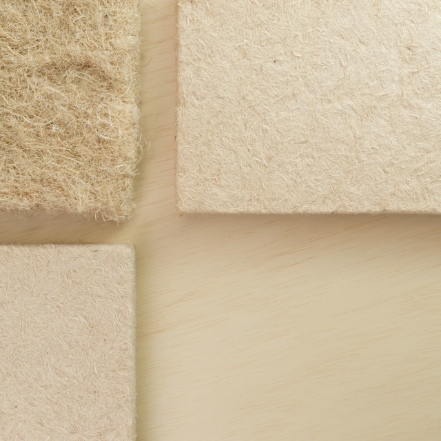 """building insulation materials - money saving concept"" stock image"