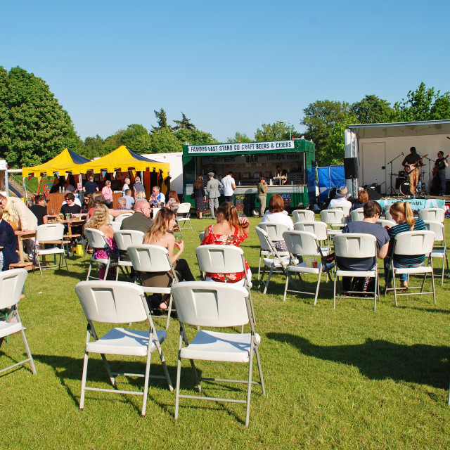 """""""Tenterden Food and Drink Festival, England"""" stock image"""