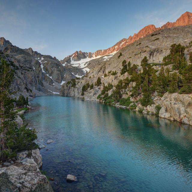 """Beautiful Finger Lake"" stock image"