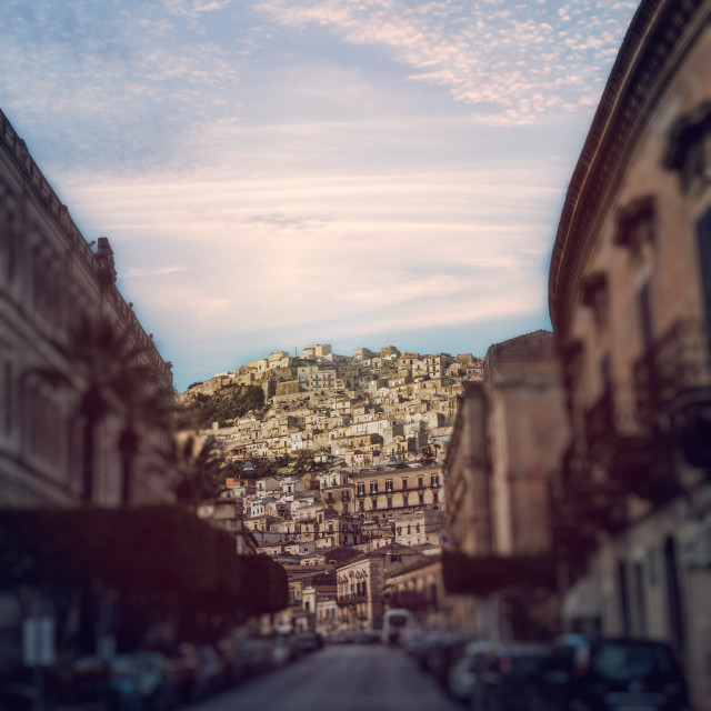 """Modica Buildings 2"" stock image"