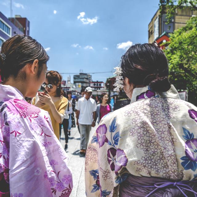 """""""Kimono"""" stock image"""