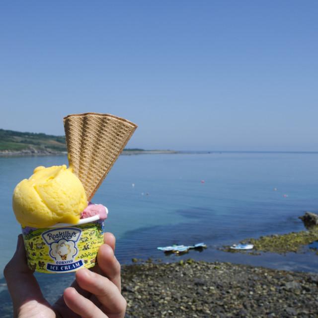 """Taste of Cornwall"" stock image"