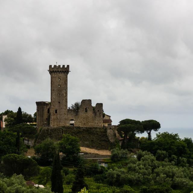"""Castelnuovo Magra, Italy"" stock image"