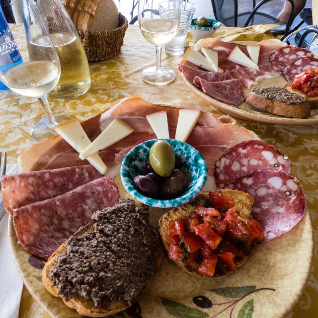 """Italian Food - Antipasto"" stock image"