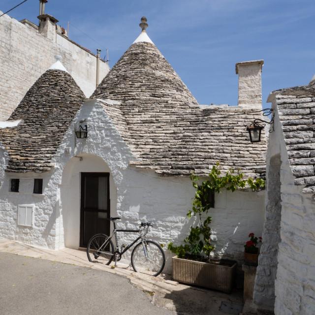 """Trulli/Trullo Houses, Alberobello"" stock image"