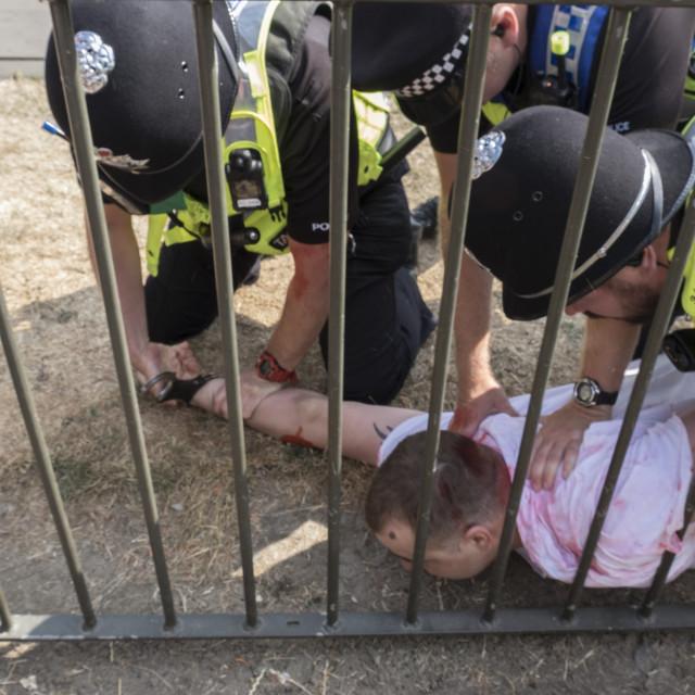 """E_Crawford_Cambridgeprotest21-07-1820"" stock image"