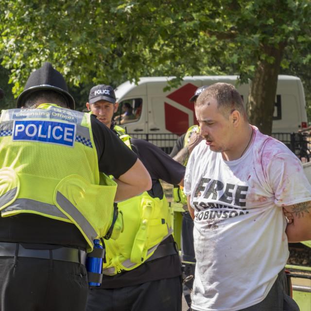 """E_Crawford_Cambridgeprotest21-07-1824"" stock image"