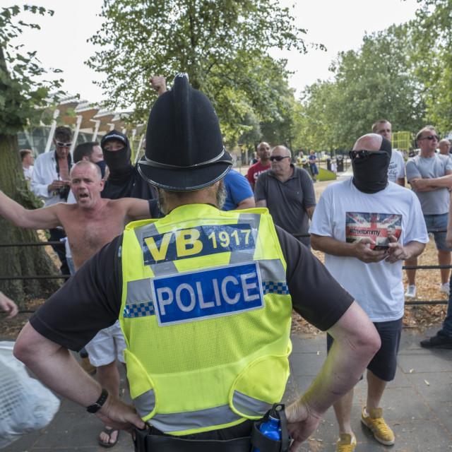 """E_Crawford_Cambridgeprotest21-07-1853"" stock image"