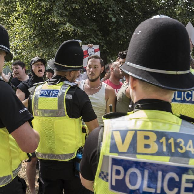 """E_Crawford_Cambridgeprotest21-07-1878"" stock image"