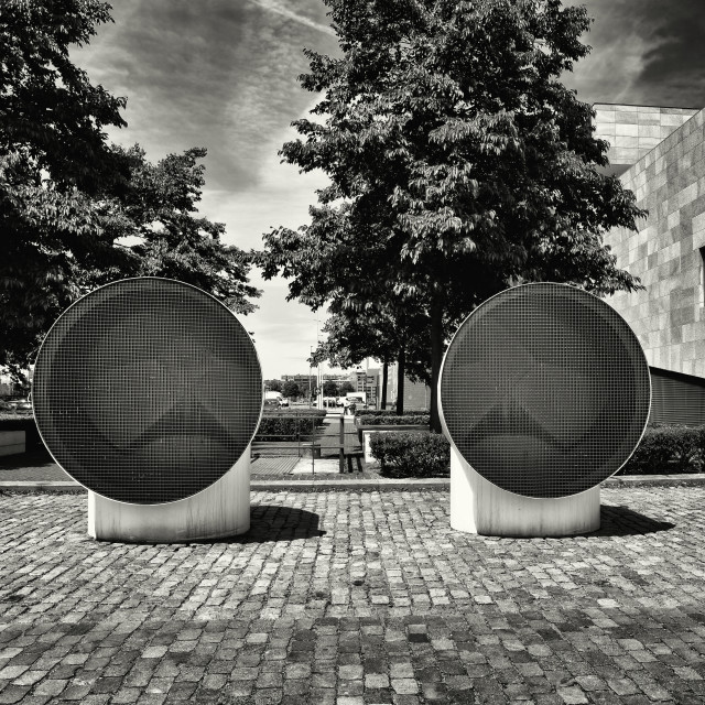 """""""Circles in architecture"""" stock image"""