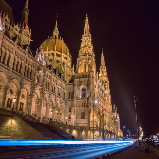 """Hungarian Parliament Building (I)"" stock image"