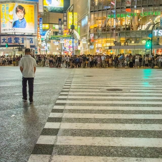 """Shibuya Crossing Japan"" stock image"