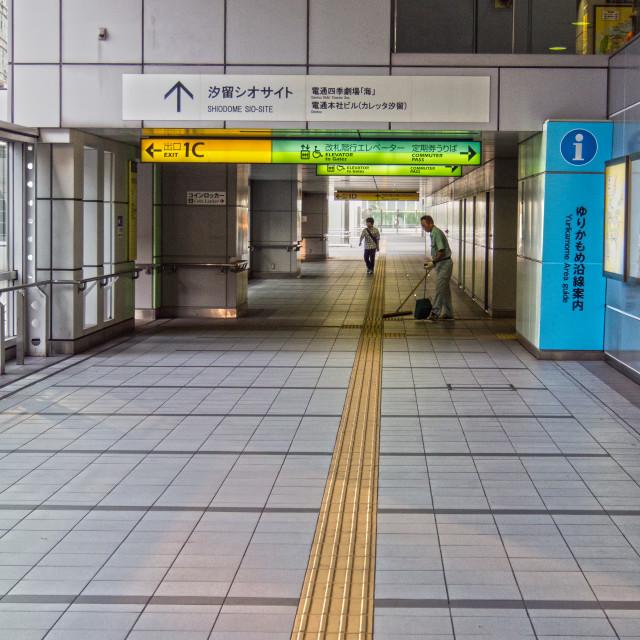 """Spotless In Tokyo"" stock image"