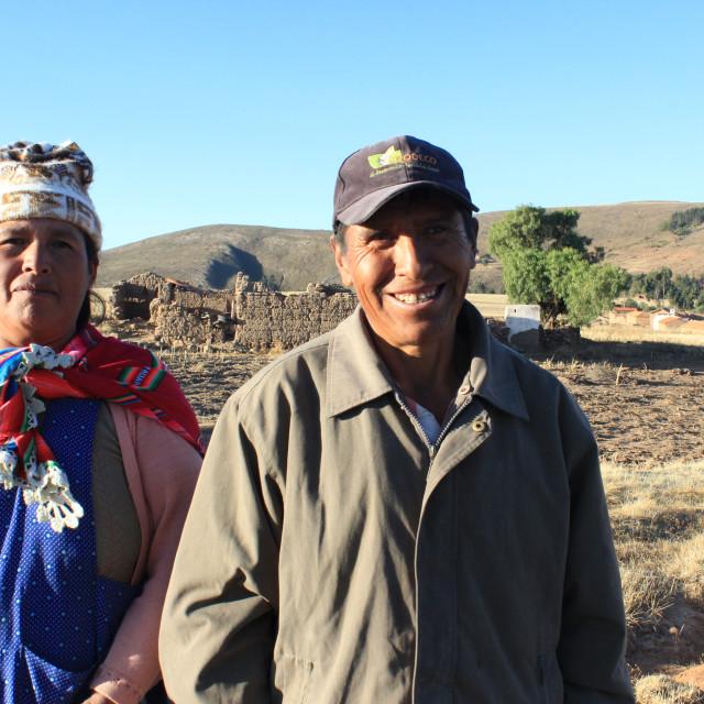 """""""Indigenous couple"""" stock image"""