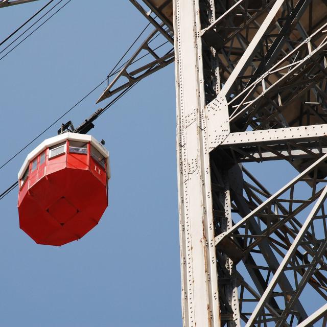 """Transbordador cable car, Barcelona"" stock image"